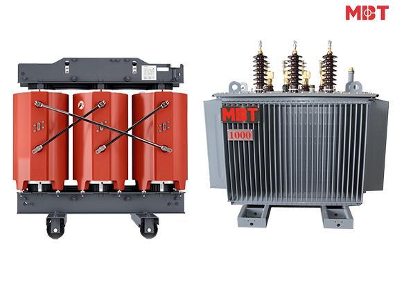 Chọn máy biến áp: Máy biến áp khô hay Máy biến áp dầu