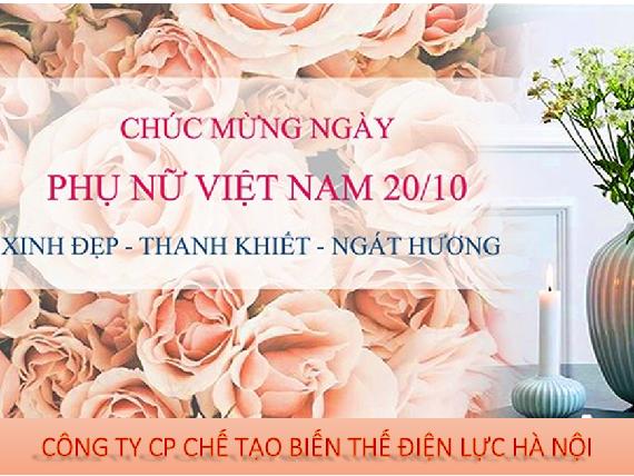 MBT vui mừng tổ chức ngày phụ nữ Việt Nam 20-10