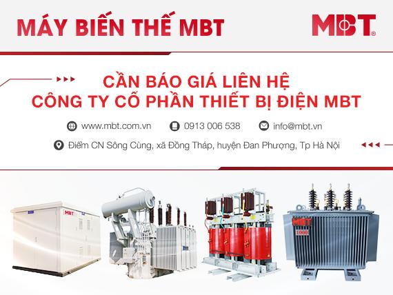 Báo giá máy biến áp MBT mới nhất 2020