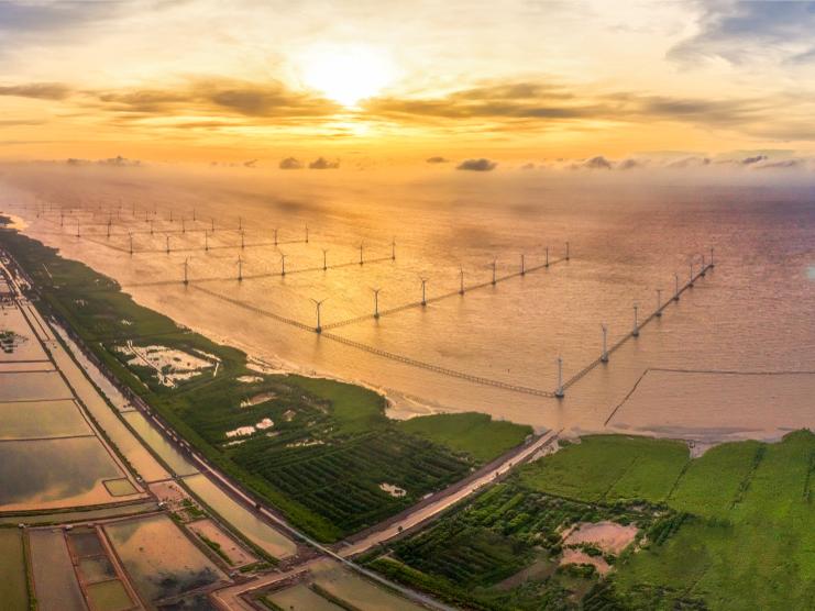 Dịch Covid-19 tác động thế nào đến tiến độ các dự án điện gió của Super Energy?